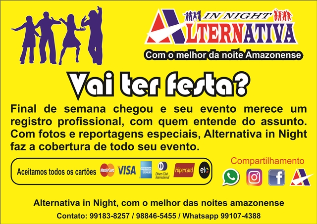 Vai rolar a festa? Alternativa in Night faz a cobertura